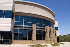 Entrada corporativa moderna do prédio de escritórios Imagens de Stock