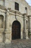 Entrada da capela de Alamo imagem de stock royalty free