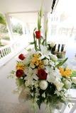 Entrada da capela do casamento Imagens de Stock Royalty Free