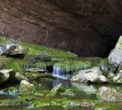 Entrada da caverna fotos de stock