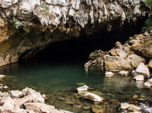 Entrada da caverna de Konglor Imagens de Stock Royalty Free