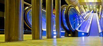 Entrada da estação de comboio Imagem de Stock