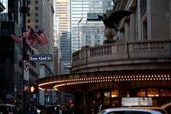Entrada da estação de Grand Central, NYC Imagem de Stock Royalty Free
