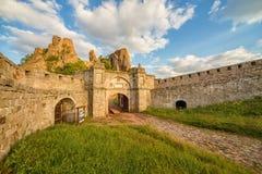 Entrada da fortaleza de Belogradchik Foto de Stock