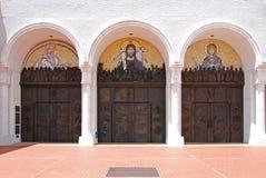 Entrada da igreja foto de stock royalty free
