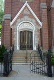 Entrada da igreja imagem de stock