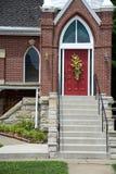 Entrada da igreja foto de stock