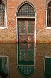Entrada da igreja de Veneza. Fotos de Stock