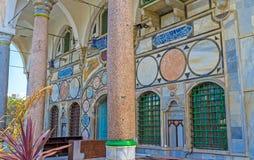 A entrada da mesquita do al-Jazzar Foto de Stock Royalty Free