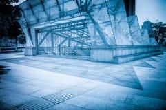 Entrada da passagem subterrânea Imagem de Stock