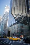 Entrada da torre do trunfo vista através da rua Foto de Stock Royalty Free