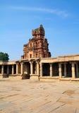 A entrada das ruínas do templo de Krishna, Hampi fotos de stock royalty free