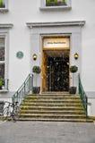 Entrada de Abbey Road Studios, Londres Fotografía de archivo