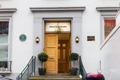 Entrada de Abbey Road Studios, Londres, Reino Unido Fotos de archivo libres de regalías