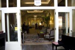 Entrada de Alexis Hotel Fotografia de Stock Royalty Free