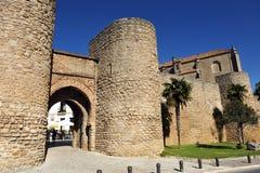 Entrada de Almocabar, província de Ronda, Malaga, Espanha foto de stock