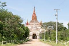 Entrada de Ananda Monastery Fotos de archivo