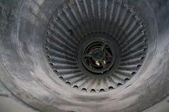 Entrada de ar do motor do jato Fotografia de Stock