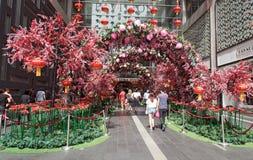 Entrada de Bukit Bintang de la alameda de compras del pabellón Fotografía de archivo
