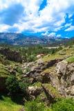 Entrada de cavernas de Tinaztepe em Konya Imagens de Stock Royalty Free