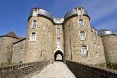 Entrada de Château de Boulogne-sur-Mer imágenes de archivo libres de regalías