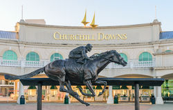 Entrada de Churchill Downs Imagem de Stock Royalty Free
