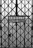 Entrada de Dachau Fotografía de archivo libre de regalías