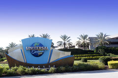 Entrada de Florida dos estúdios universais Imagens de Stock Royalty Free