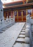 Entrada de Hutong Imagem de Stock