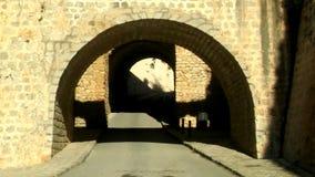 Entrada de Ibiza à cidade velha de Ibiza fotografia de stock royalty free