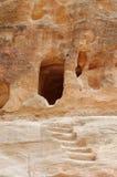 Entrada de información en una cueva Fotografía de archivo