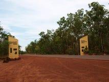 Entrada de Kakadu fotografía de archivo