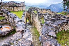 Entrada de Kuelap, Peru foto de stock
