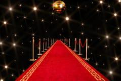 Entrada de la alfombra roja Foto de archivo