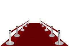 Entrada de la alfombra roja Imágenes de archivo libres de regalías