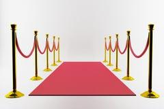 Entrada de la alfombra roja Imagen de archivo