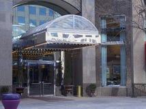 Entrada de la barra del restaurante del hotel Fotografía de archivo