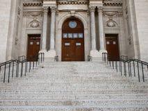Entrada de la catedral Foto de archivo