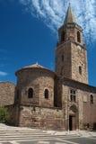 Entrada de la catedral del frejus Foto de archivo libre de regalías