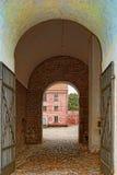 Entrada de la ciudadela de Landskrona Fotos de archivo libres de regalías