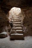 Entrada de la cueva Foto de archivo libre de regalías