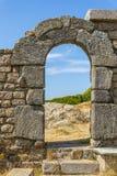 Entrada de la fortaleza Foto de archivo libre de regalías