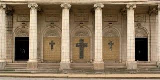 Entrada de la iglesia   Foto de archivo libre de regalías