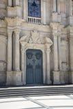 entrada de la iglesia del detalle Fotografía de archivo libre de regalías