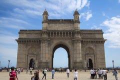 Entrada de la India en Bombay, la India Fotos de archivo libres de regalías