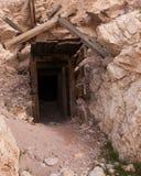 Entrada de la mina Imagenes de archivo
