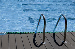 Entrada de la piscina Imagen de archivo