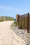 Entrada de la playa Fotografía de archivo libre de regalías