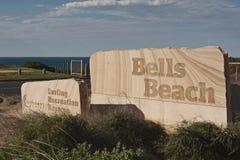 Entrada de la playa de Belces Fotos de archivo