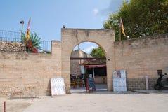 Entrada de la plaza de toros, Alcudia Imágenes de archivo libres de regalías
